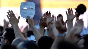 抗议的匿名者